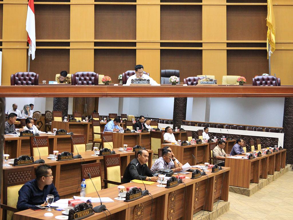 Rapat Internal Membahas Tata Tertib Anggota DPRD Kota Samarinda