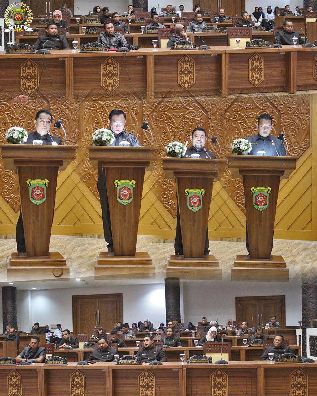 Rapat Internal Penetapan Rancangan Peraturan Perda Kota Samarinda Yang Berasal Dari DPRD Kota Samarinda