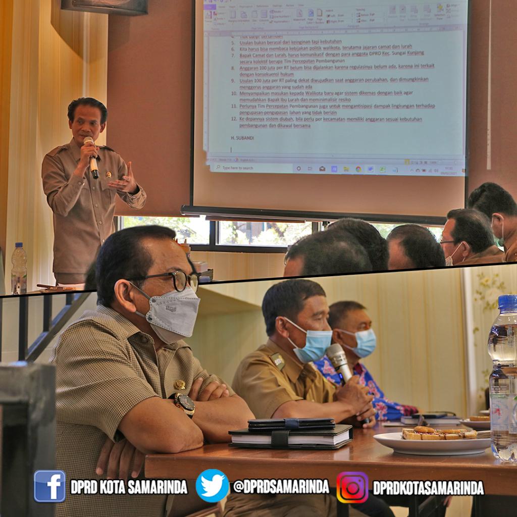Pra Musrenbang Kecamatan Sungai Kunjang 2021