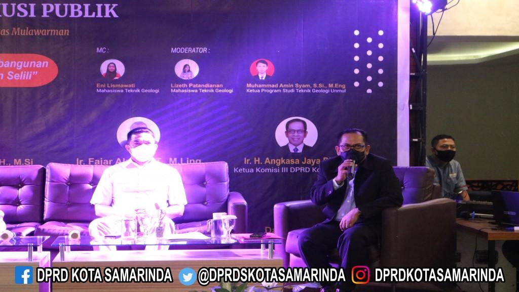 """Diskusi Publik """"Rencana Pemkot Samarinda Mengenai Pembangunan Terowongan di Gunung Maggah"""""""