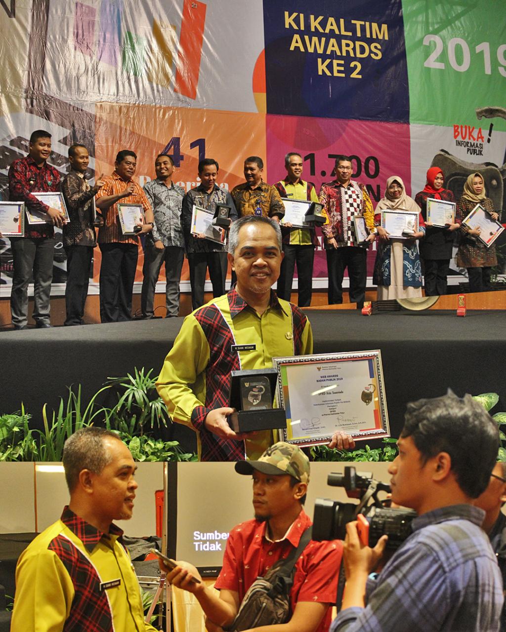 Penghargaan Pengelolaan Website DPRD Kota Samarinda