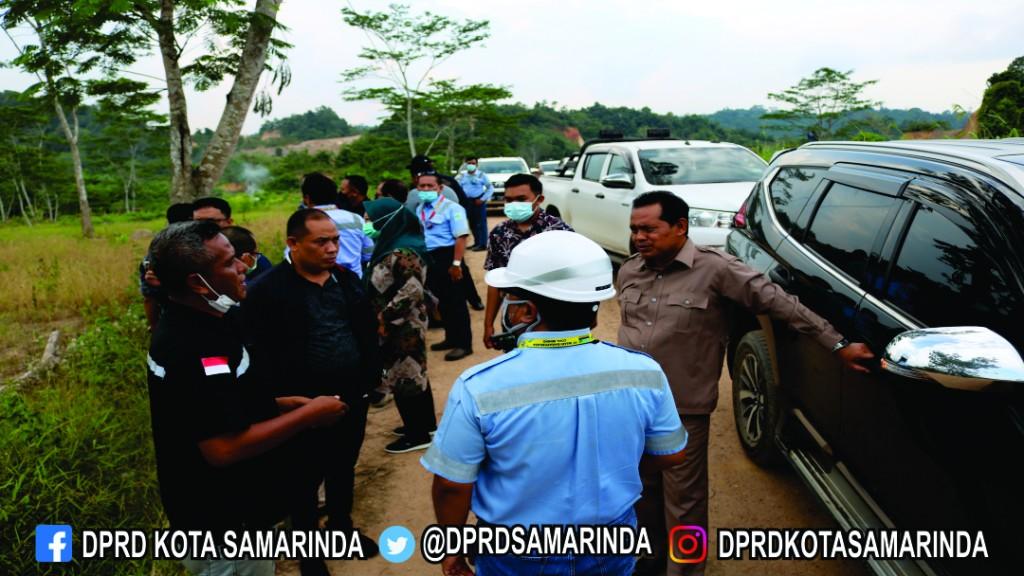 Komiisi III Melakukan Tinjauan LapanganTerkait Banjir dan Dampak Lingkungan