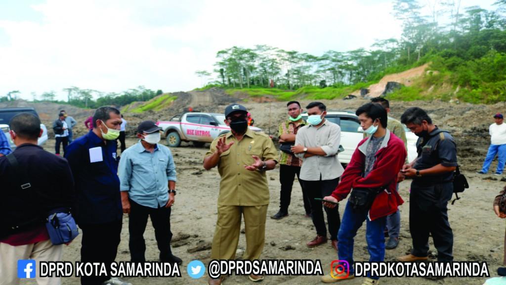 Lanjutkan Tinjauan Lapangan, Komisi III ke PT. Tiara Bara Borneo